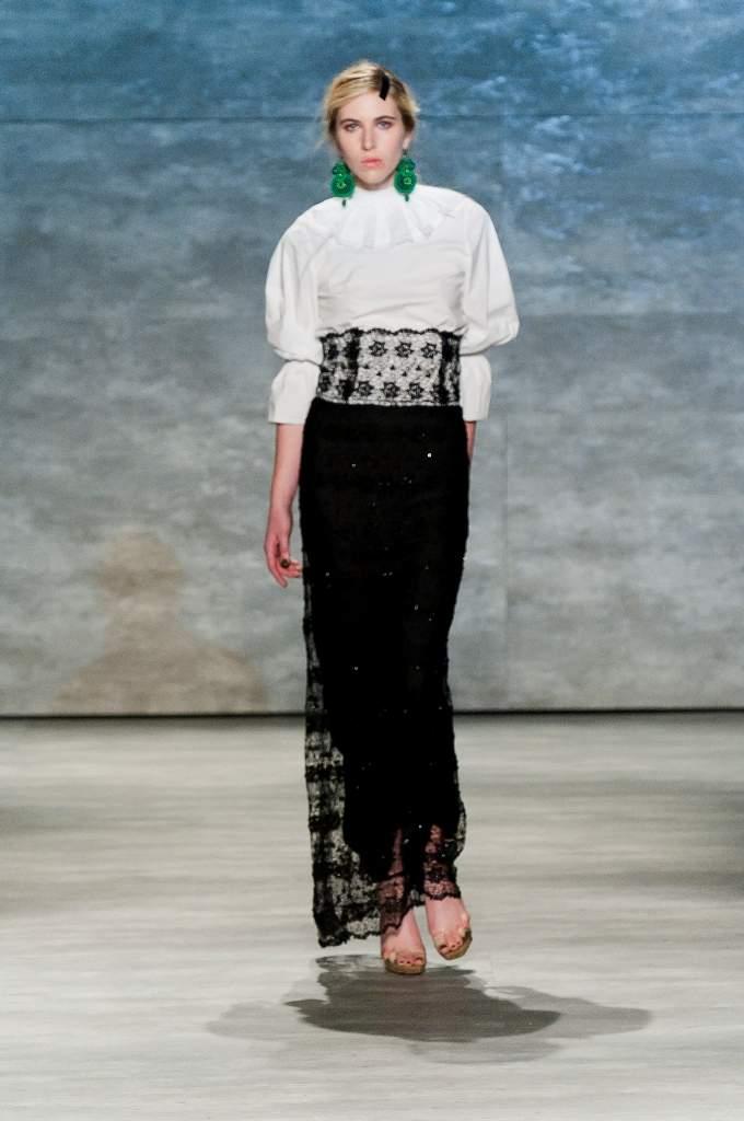 Dorin Negrau - New York Fashion Week