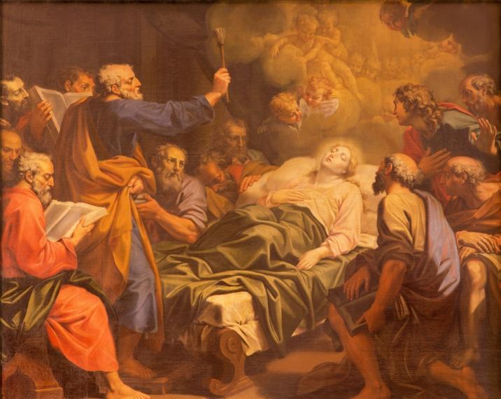 Image result for adormirea maicii domnului foto