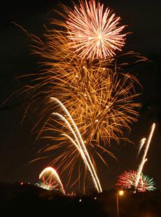 artificii revelion in familie