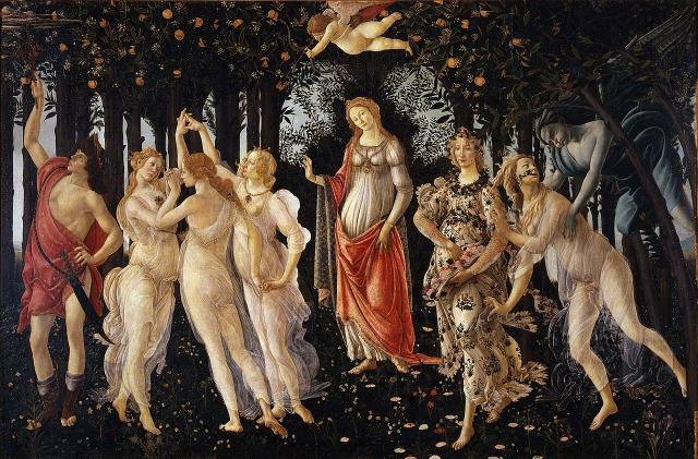 Primavara, Sandro Botticelli