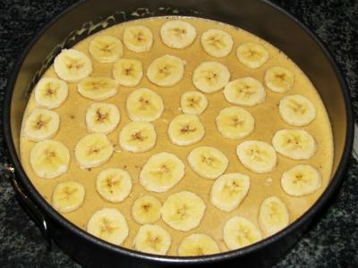 cheeseecake cu banane