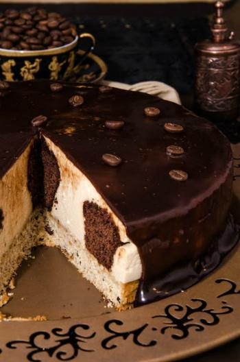 cheesecake cu cafea