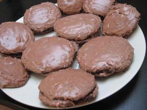 Biscuitei cu ciocolata