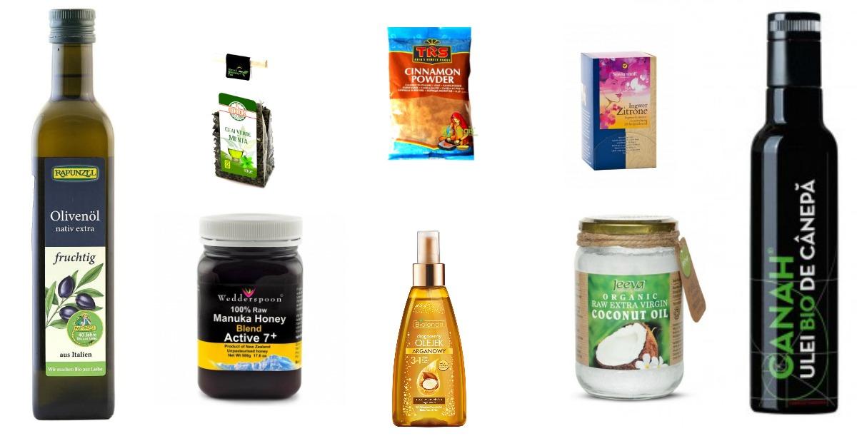 Produse naturale pentru ingrijirea corporala