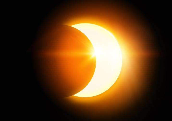 eclipsa de soare partiala