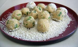 chiftele de naut, falafel