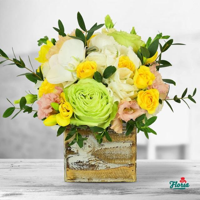 aranjament floral, Floria, trandafir