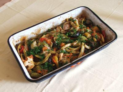 ghiveci grecesc de legume