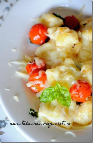 gnocchi din cartofi