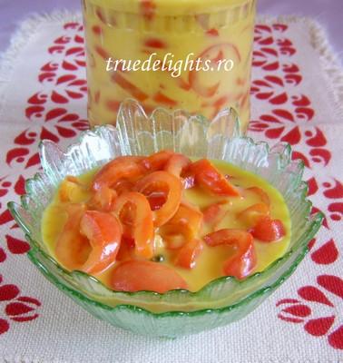 gogosari cu sos de mustar