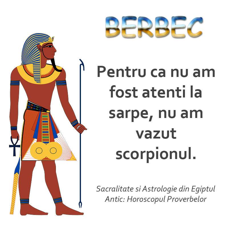 Horoscopul proverbelor egiptene: berbec