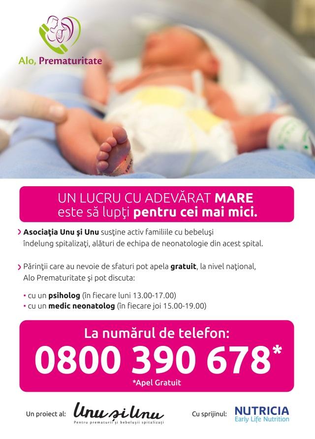 linie telefonica, copii prematuri, call center