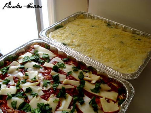 lasagna cu legume