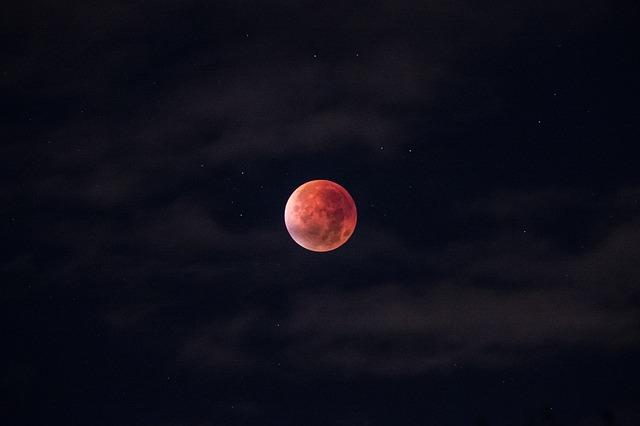 31 Ianuarie 2018 Super Luna Purpurie, eclipsa de luna, eclipsa, luna plina