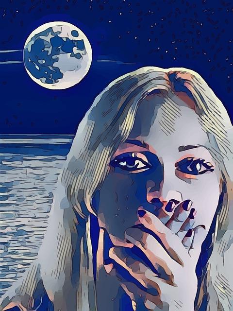 luna plina, luna, luna plina influente