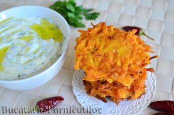 chiftelute cu morcov