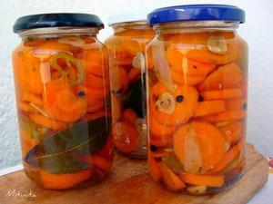 Zanahorias de Escabeche - Morcovi murati picanti