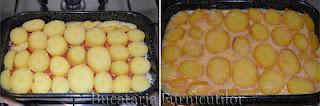 musaca de cartofi si cartofi