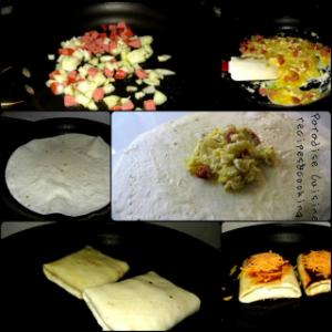 omleta quesadilla