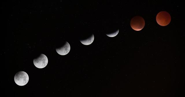 fazele lunii, luna noua