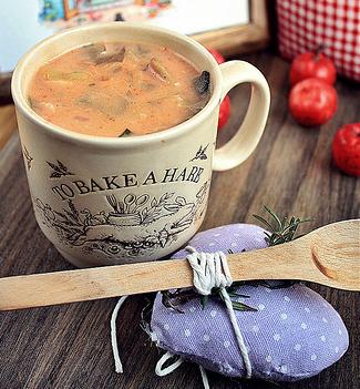 supa de ciuperci pleurotus