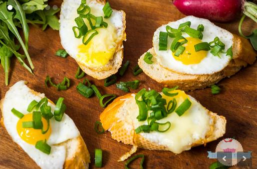 mic dejun cu oua de prepelita