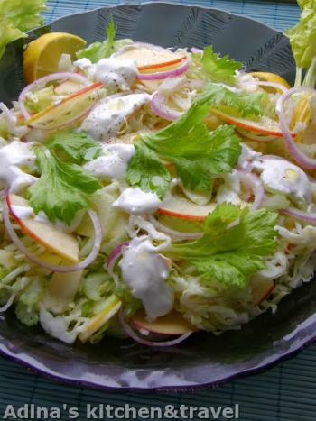 salata de telina si mere