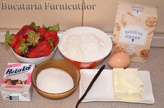 ingrediente sandwich cu capsuni
