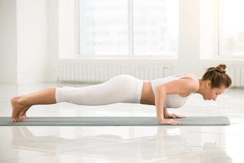 pozitie yoga, Dandasana (staff pose)
