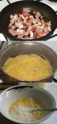 ingrediente spaghetii carbonara