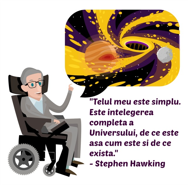 Stephen Hawking, citate