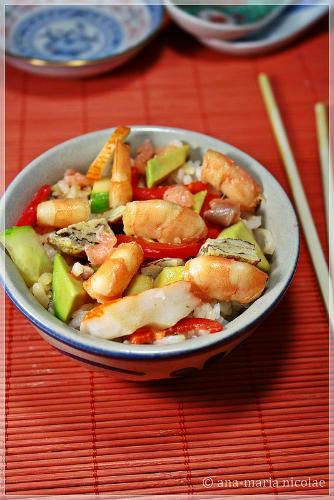salata sushi