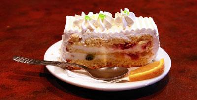 tort cu crema care deavaluie sexul copilului