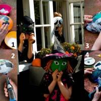 Masti de Halloween pas cu pas! Bucurie pentru copii