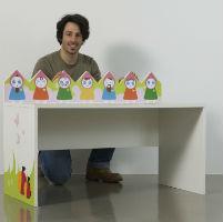 Pas cu pas: Cum se confectioneaza un birou pentru copii