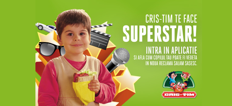 (P) Cris-Tim iti face copilul superstar!