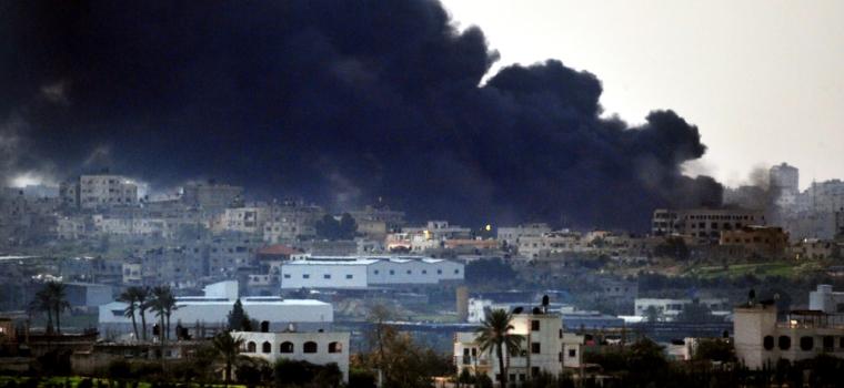 Bombardamente in Gaza: Razboiul prin ochii unei femei!