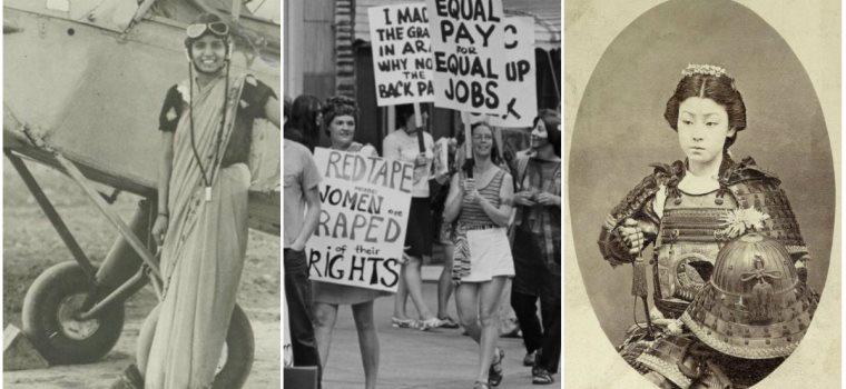19 fotografii ale unor femei care au facut istorie