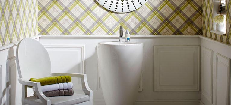 Tapetul in baie - alegerea perfecta pentru o baie deosebita
