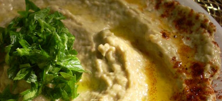 Salata de vinete arabeasca (Baba Ghannoug)