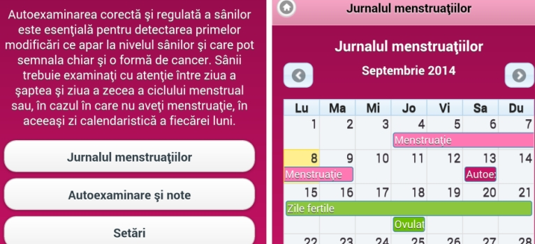 Aplicatia gratuita Breast Test: Invata cum si cand sa-ti autoexaminezi corect sanii!