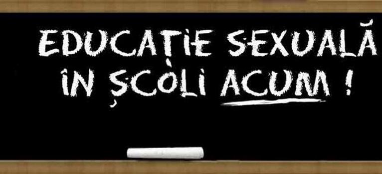 67 de ONG-uri fac un APEL DE URGENTA pentru educatie sexuala in scoli