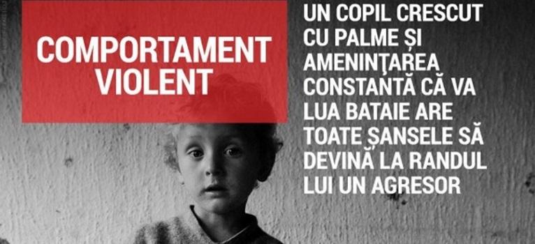 Violenta la adresa copiilor in Romania: Haideti sa recunoastem ca este grav!