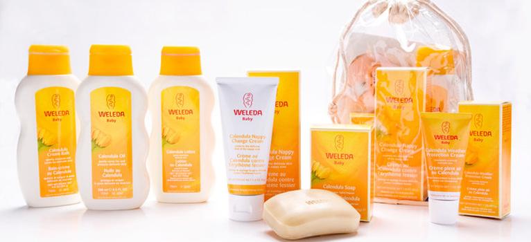Weleda Baby: ingrijire certificata natural pentru bebelusi si copii