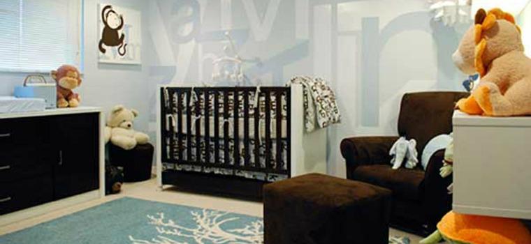 Idei pentru amenajarea camerei bebelusilor cu mobila