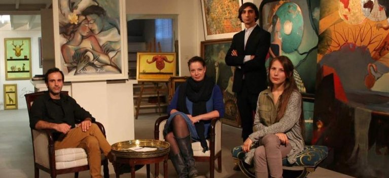 5 artisti romani expun in week-end la Paris, in cadrul Portes Ouvertes