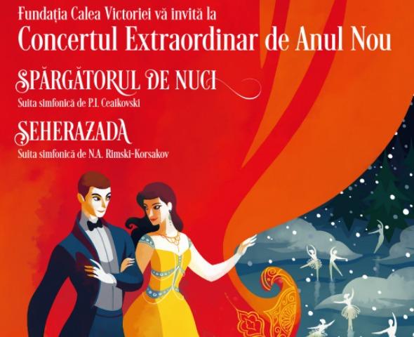 Sarbatoreste magia muzicii la Concertul Extraordinar de Anul Nou!