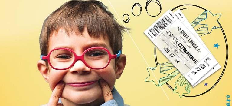'Bilet in asteptare' - ofera si tu unui copil bucuria de a participa la un spectacol