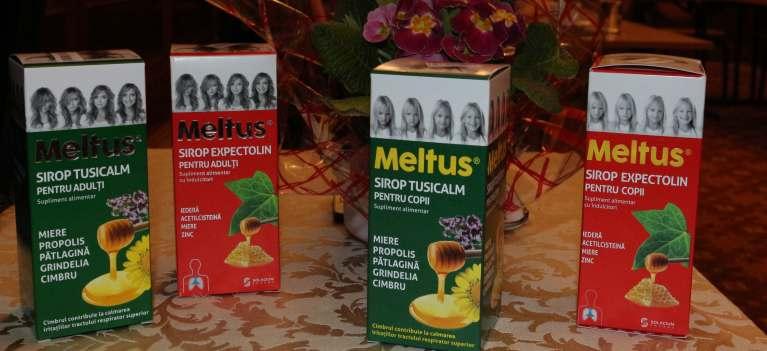 Gama de siropuri Meltus - Sinergie dintre natura si stiinta, cea mai eficienta solutie impotriva afectiunilor celor mici