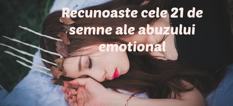 21 de semne ale abuzului emotional in relatii